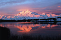 USA, Alaska, Denali National Park And Preserve, View of lake... by Danita Delimont