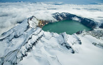 Crater Lake in Katmai National Park, Alaska. by Danita Delimont