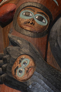 USA, Alaska, Ketchikan, Totem Bight State Historical Park. by Danita Delimont