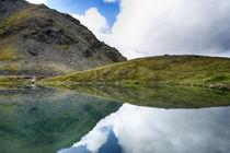 USA, Alaska, Hatchers Pass, Summit Lake von Danita Delimont