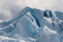 Close up of the Matanuska Glacier blue ice by Danita Delimont