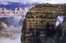 USA, Arizona, Grand Canyon National Park, North Rim, Clouds ... by Danita Delimont