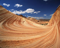 USA, Arizona, Colorado Plateau, Striped sandstone formations by Danita Delimont