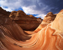 USA, Arizona, Paria Canyon, The Wave formation in Coyote Buttes by Danita Delimont