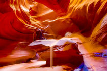 Upper Antelope Slot Canyon rock formations von Danita Delimont