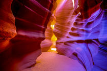 Upper Antelope Slot Canyon rock formations by Danita Delimont
