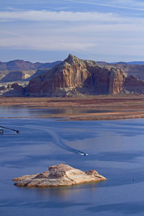 Arizona, boats on Lake Powell at Wahweap by Danita Delimont