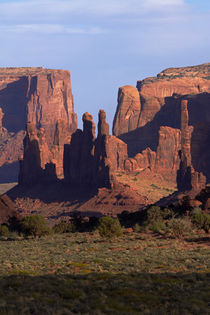 Navajo Nation, Monument Valley, Yei Bi Chei and Totem Pole r... von Danita Delimont