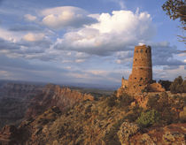 Desert View Watch Tower designed by Mary Jane Coulter on the... von Danita Delimont