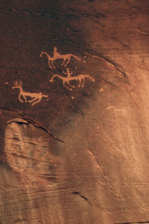 Petroglyph, Canyon de Chelly National Monument, Arizona, USA von Danita Delimont