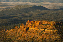 Aerial View, Cockscomb, Red Rock Country, Sedona, Coconino N... by Danita Delimont
