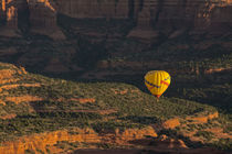 Aerial View, Doe Mesa, Red Rock Country, Sedona, Coconino Na... by Danita Delimont