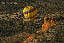 Aerial View, Doe Mesa, Red Rock Country, Sedona, Coconino Na... von Danita Delimont