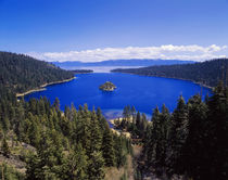 USA, California, View of Emerald bay in lake Tahoe by Danita Delimont