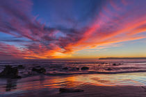 Sunset over the Pacific from Coronado by Danita Delimont