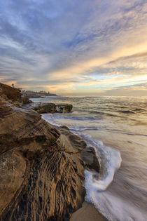 Sunset at Windansea Beach in La Jolla, CA von Danita Delimont