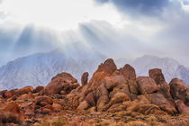 USA, California, Alabama Hills by Danita Delimont