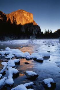 USA, California, Yosemite National Park, View of El Capitan ... by Danita Delimont