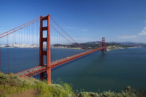 USA, California, San Francisco, Golden Gate Bridge, San Francisco Bay. by Danita Delimont