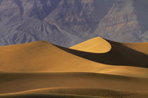 Mesquite Flat Sand Dunes and Grapevine Mountains, near Stove... by Danita Delimont