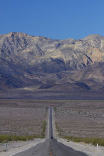State Route 190 through Death Valley near Stovepipe Wells, t... by Danita Delimont