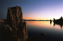 USA, California, Eastern Sierra, Mono Lake, Tufa rock format... by Danita Delimont