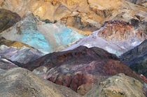 Artist Palette, Artist Drive, Death Valley National Park, Ca... by Danita Delimont