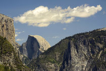 Half Dome, Sierra Nevada, from Inspiration Point, Yosemite N... by Danita Delimont