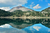 Reflections on Lake Helen, Lassen Volcanic National Park, Ca... by Danita Delimont
