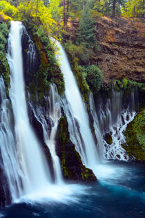 Burney Falls, McArthur-Burney Falls Memorial State Park, Cal... von Danita Delimont
