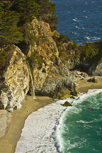 Mcway Falls, Julia Pfeiffer Burns State Park, Big Sur, California, USA by Danita Delimont