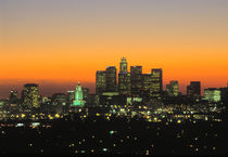 Los Angeles Skyline, California by Danita Delimont