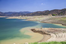 Castaic Lake during drought by Danita Delimont