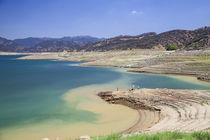 Castaic Lake during drought von Danita Delimont