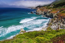 The Big Sur coast at Rocky Point, Big Sur, California, Usa by Danita Delimont