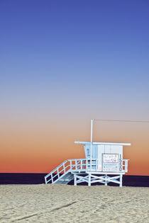 Santa Monica Beach Twilight by Danita Delimont