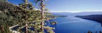 USA, California, View of Lake Tahoe and emerald Bay in morning von Danita Delimont