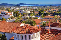 Court House Building Santa Barbara, California by Danita Delimont