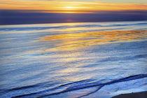 Eilwood Mesa Pacific Ocean Sunset Goleta California von Danita Delimont