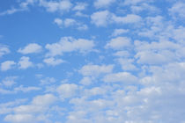USA, Florida, New Smyrna Beach, cumulus clouds. by Danita Delimont