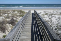 USA, Florida, New Smyrna Beach, Smyrna Dunes Park, boardwalk von Danita Delimont