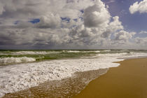 Storm coming, Eastern Florida coast, Atlantic Ocean, near Ju... by Danita Delimont