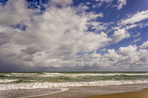 Storm coming in, Eastern Florida coast, Atlantic Ocean, near Jupiter by Danita Delimont