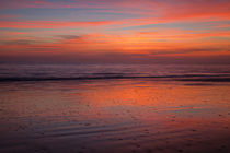 USA, Georgia, Jekyll Island, Sunrise on the beach at Jekyll Island. by Danita Delimont