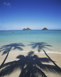Hawaii Islands, Oahu, View of Lanikai Beach von Danita Delimont