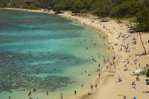 USA, Hawaii, Oahu, Beach at Hanauma Bay Nature Preserve . by Danita Delimont