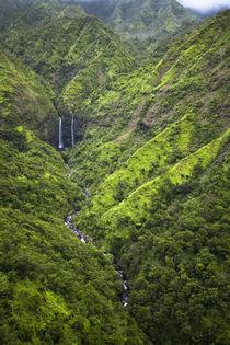 Scenic views of Kauai from above. von Danita Delimont