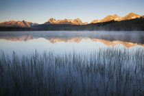 Idaho, Sawtooth National Recreation Area, Little Redfish Lak... by Danita Delimont