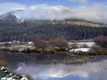Phi Kappa Mountain and Summit Creek, Idaho, USA von Danita Delimont