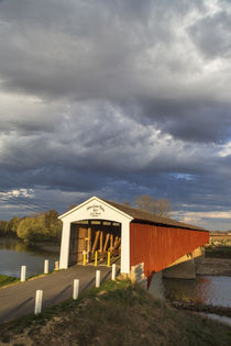 Medora Covered Bridge by Danita Delimont